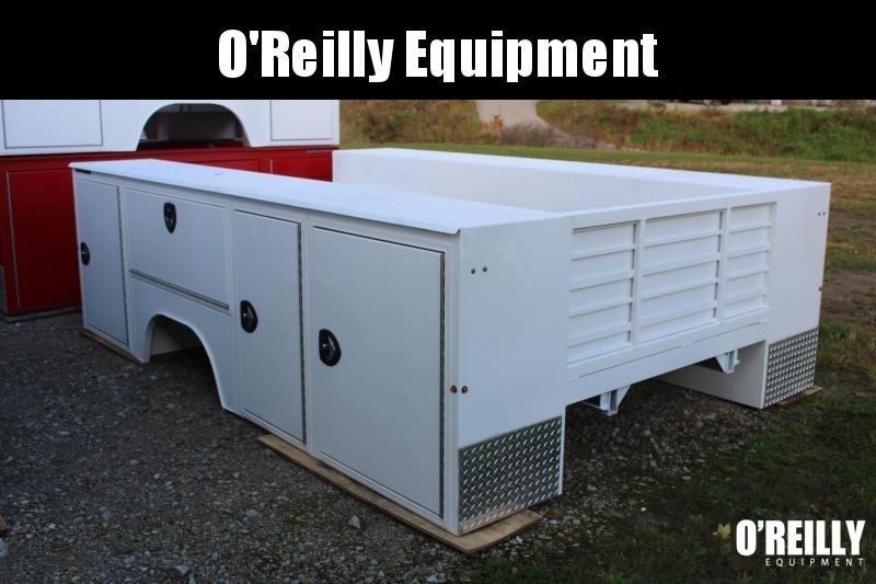 2021 Aluminum Dura Mag Truck Bodies SB-S-84-STD-DRW Truck Bed