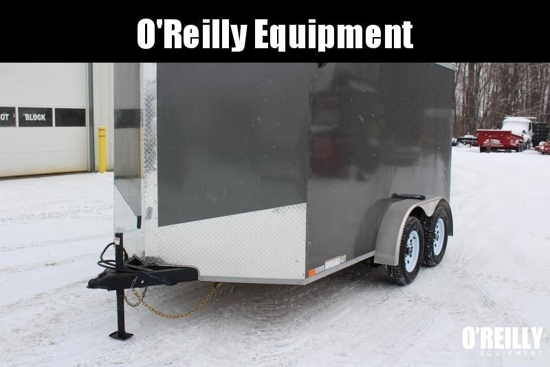 2021 United XLV 7' x 12' Enclosed Trailer - 7000# GVWB -Ramp