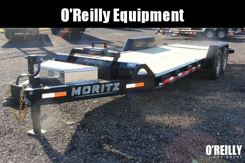 2021 Moritz 7' x 16' + 6' Power Tail Tilt - 14000# GVW