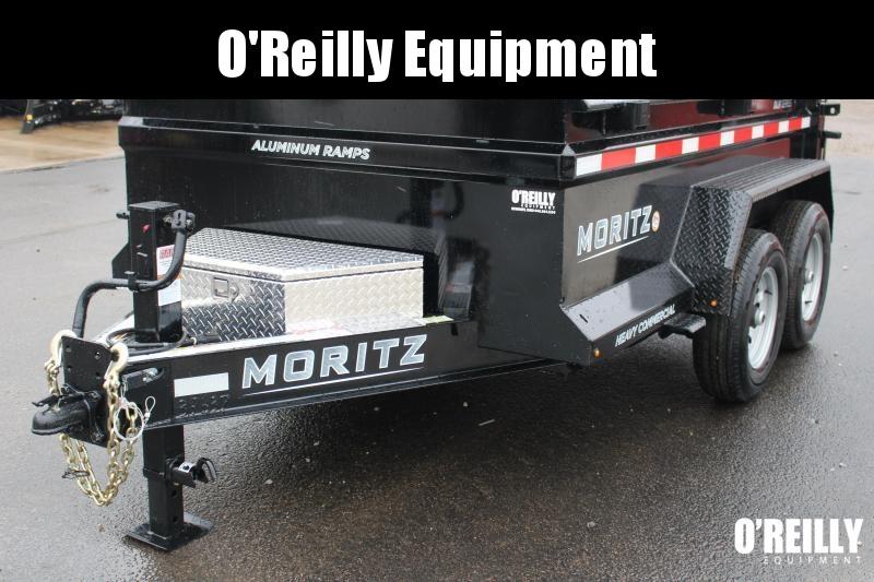 """2021 Moritz International 6'2""""x10 HD Dump Trailer"""