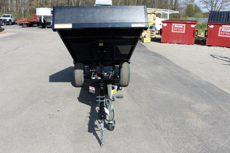 "2021 Sure-Trac 4' 5"" x 8' Dump Trailer - 2990# GVW"