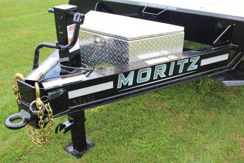 """2022 Moritz EDBH 8' 6"""" x 18' + 4' Deck Over - 16000# GVW"""