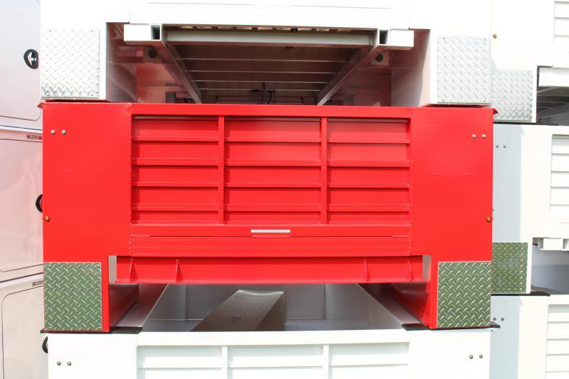 2022 Aluminum DuraMag Service Body SRW LONG BED - FORD