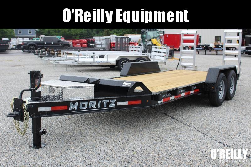 2021 Moritz 7' x 18' Equipment Trailer - 14000# GVW