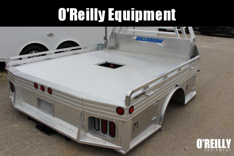 2021 Hillsboro Industries 8' x 9.4' 4000 Series Aluminum Bed Truck Bed