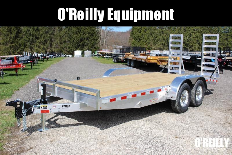2021 H and H Trailer 7' x 18' Equipment Trailer
