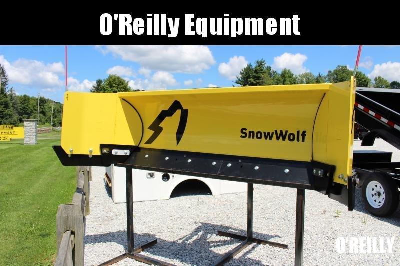 2021 SnowWolf QP-102 AutoWing Snow Plow