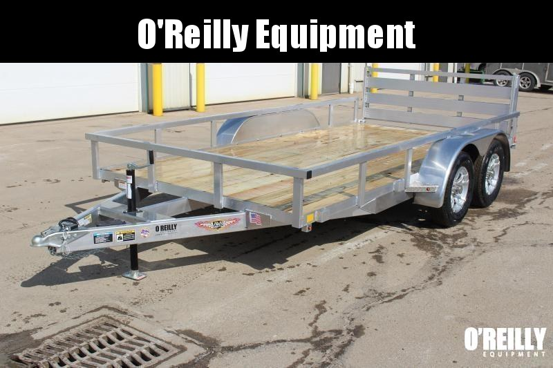"""2021 H and H Trailer 82"""" x 14' Utility Trailer"""