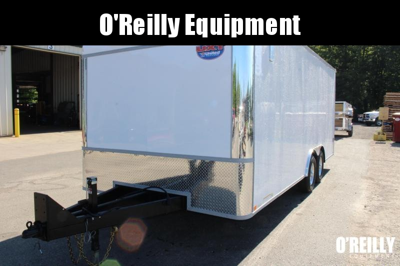 2021 United Trailers UXT 8.5x20 Enclosed Trailer