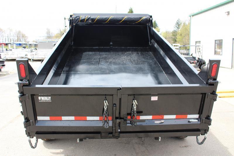 2022 Sure-Trac 7' x 12' Dump Trailer - 12000# GVW