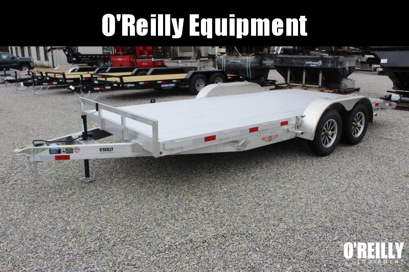 2021 H & H Trailer 7' x 18' Car Hauler - 7000# GVW