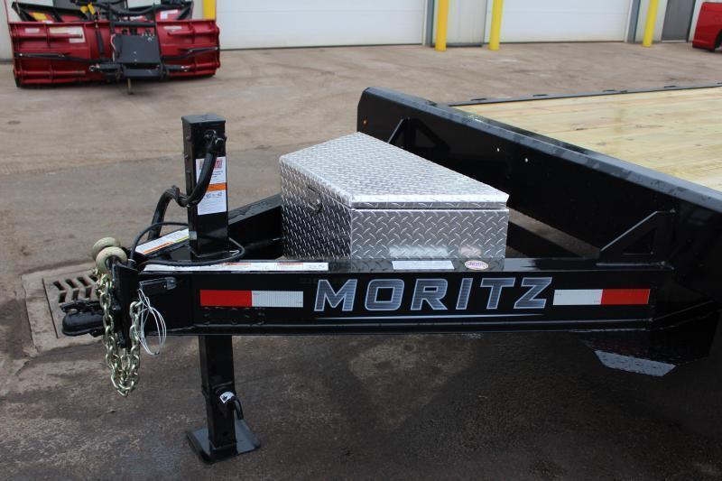 2021 Moritz 8.5' x 18' + 4' Deck Over - 14000# GVW
