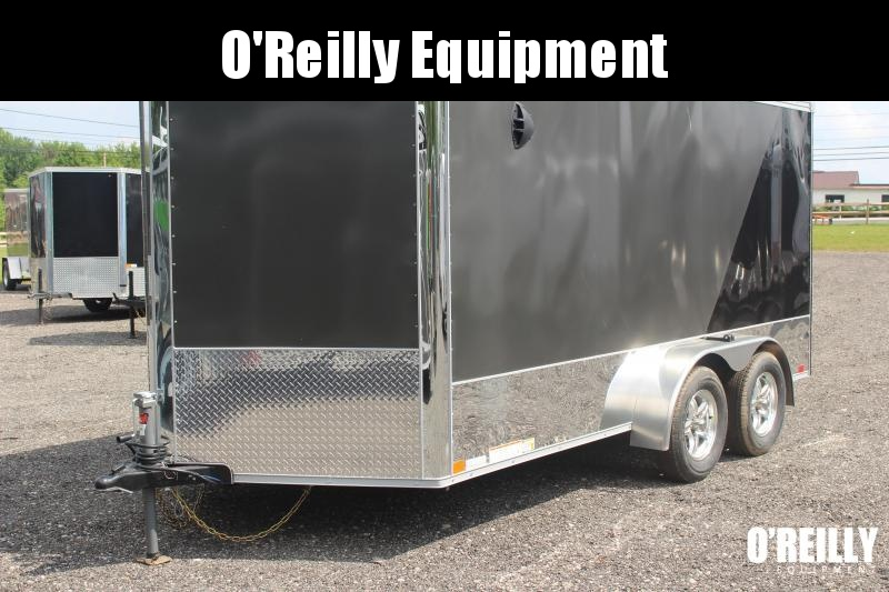 2021 United Trailers XLMTV 7x14 Motorcycle Trailer