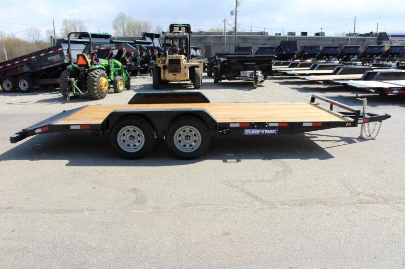 2021 Sure-Trac 7' x 18' Car Hauler - 7000# GVW