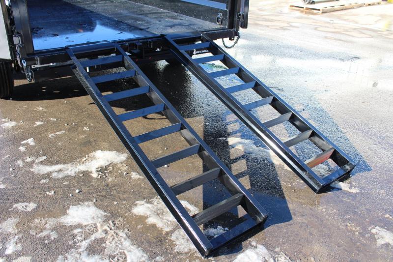 2021 Sure-Trac 7' x 14' Dump Trailer - 16000# GVW