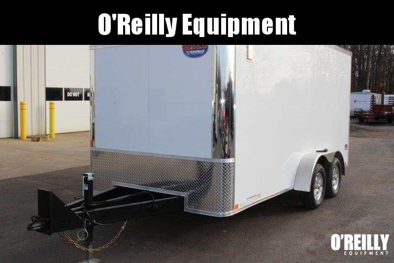 2021 United Trailers UXT 7x18 Enclosed Trailer