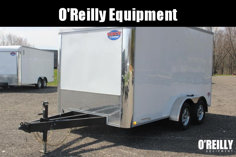 2021 United UXT 7' X 14' Enclosed Trailer - 7000# GVW Ramp