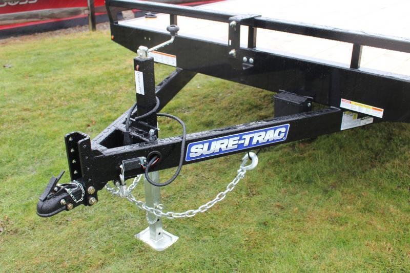 2021 Sure-Trac 8.5' x 16' Flatbed Trailer - 9900# GVW