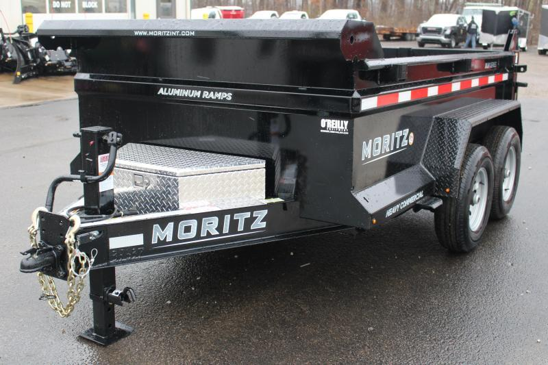 "2021 Moritz 6' 2"" x 10' Dump Trailer - 10000# GVW"
