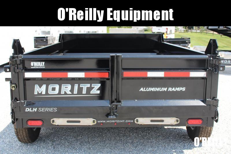 """2021 Moritz International 6'10""""x10 HD Dump Trailer"""