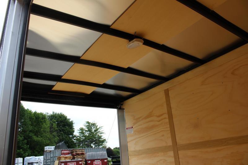 2022 United XLV 7' x 12' Enclosed Trailer - 7000# GVWB - Ramp - 7' Interior
