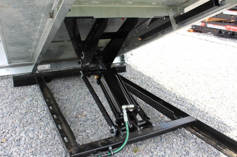 2021 Daniels Galvanized Steel 8' Dump Insert - Long Bed
