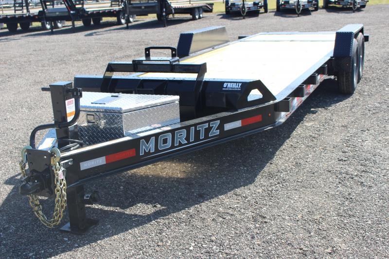 2022 Moritz 7' x 16' + 6' Power Tail Tilt - 14000# GVW