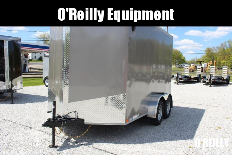 2022 United XLV 7' x 12' Enclosed Trailer - 7000# GVWB -Ramp