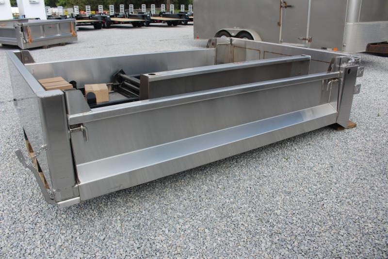 """2021 Galion 103USDDS-11 - Stainless - Dump Body - 84"""" CA, Drop Sides"""