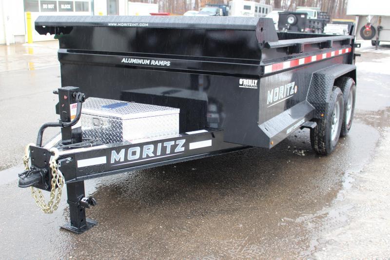 "2021 Moritz 6'10"" x 12' HD Dump Trailer - 14000# GVW"