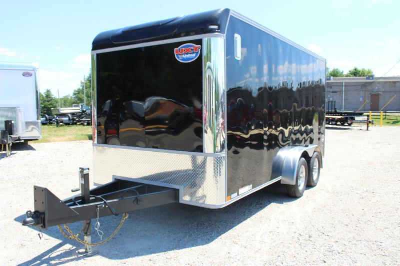 2021 United Trailers UXT 7x16 Enclosed Trailer