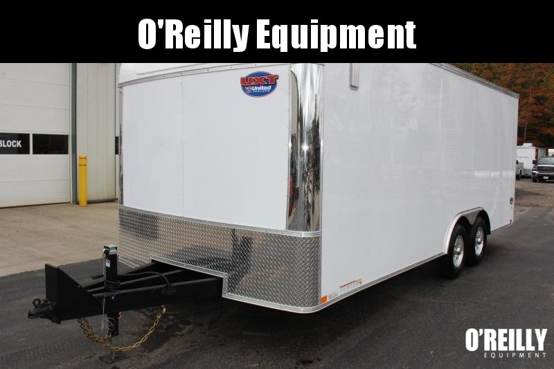 2021 United Trailers UXT 8.5x18 Enclosed Trailer