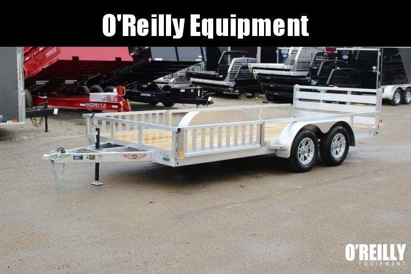 2021 H and H Trailer 6.8 x 16' Utility ATV Trailer