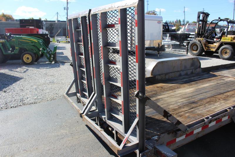 "2016 Sure-Trac 80"" x 24 Equipment Trailer Used"