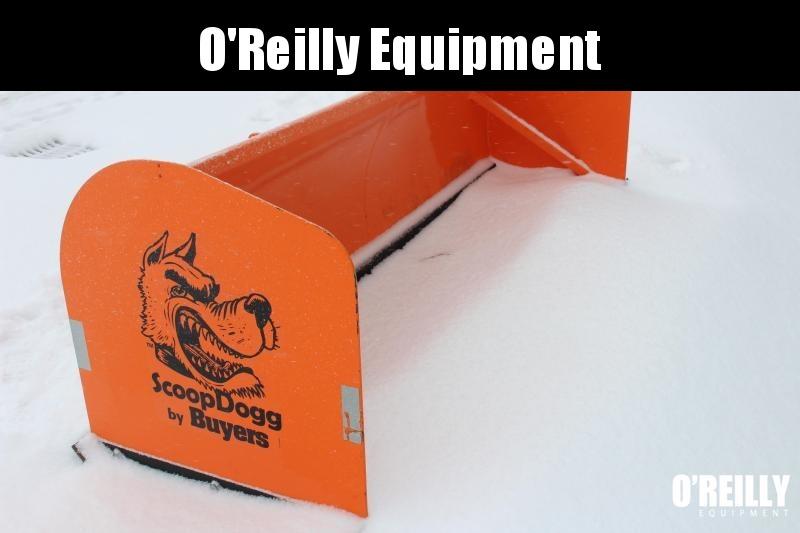 2018 Scoop Dogg 2603110 Snow Plow 10' Box Plow Used