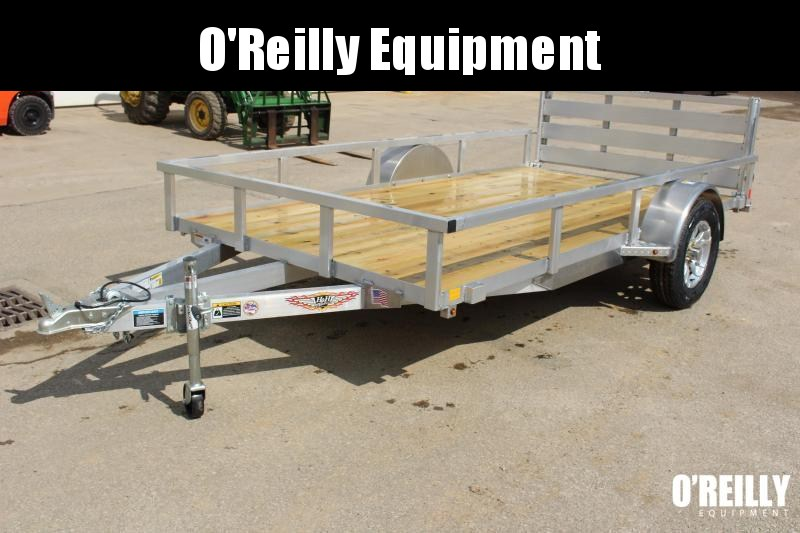 """2021 H and H Trailer 6'10"""" x 12' Utility Trailer"""