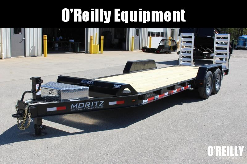 2021 Moritz International 7 x 22 Equipment Trailer
