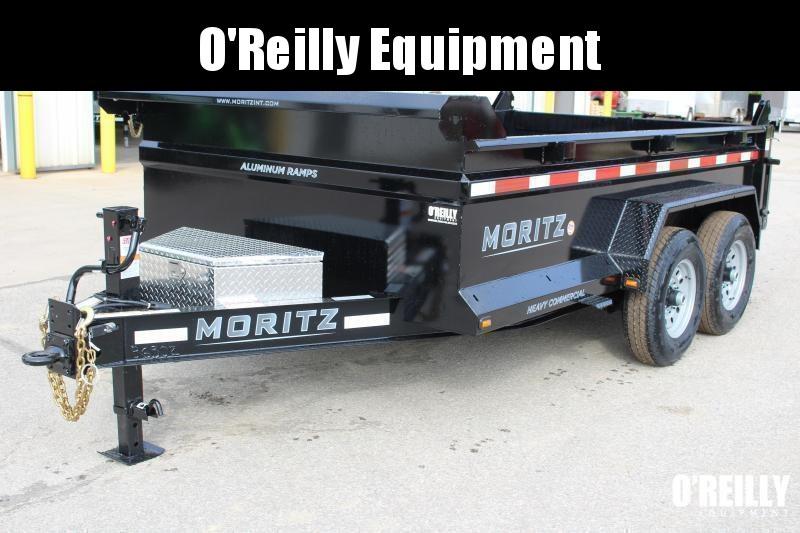 """2021 Moritz International 6'10""""x12 HD Dump Trailer"""