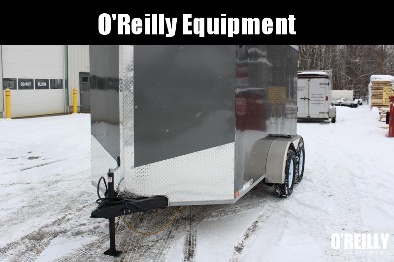 2021 United XLV 6' x 12' Enclosed Trailer - 6' Interior Height -Dbl Rear -7,000lb GVWR