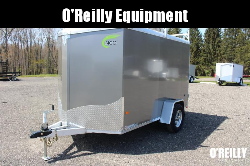 2021 NEO NAV 6' x 10'  Enclosed Trailer - Double rear Doors - 2990# GVW