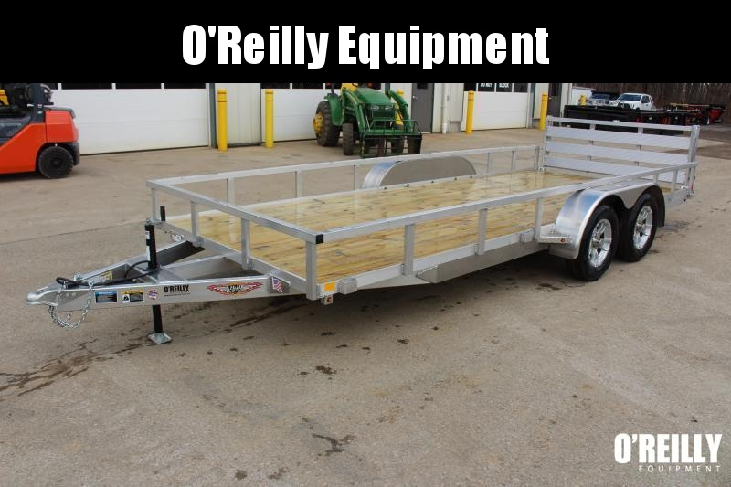 2021 H and H Trailer 6.8 x 18' Utility Trailer