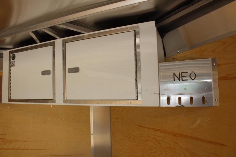 "2019 NEO Trailers NAVR 7 x 14 Enclosed Cargo Ramp 6'6"" Interior Used"