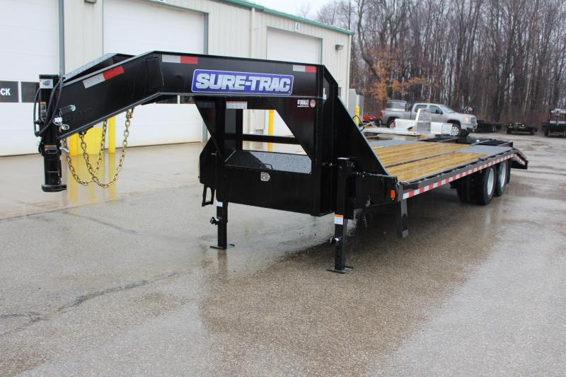 2020 Sure-Trac 8.5 x 20 5' Flatbed Trailer