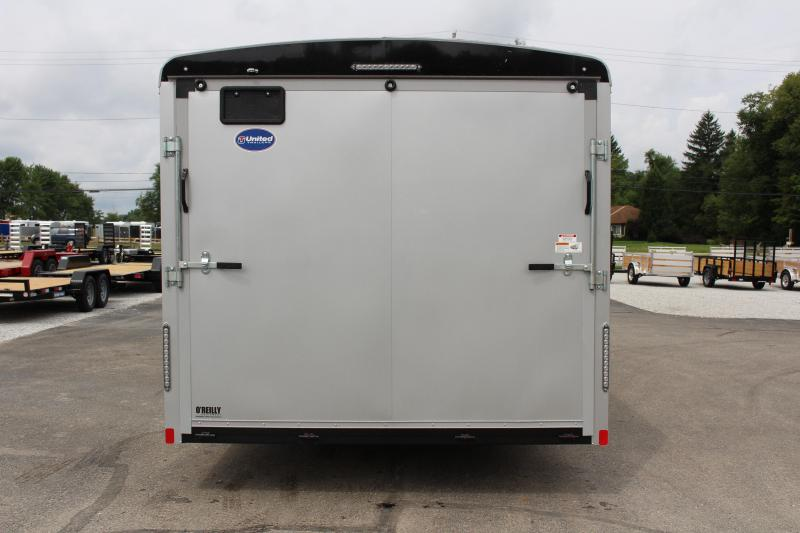 2021 United Trailers ULT 8.5X24 Enclosed Cargo Trailer