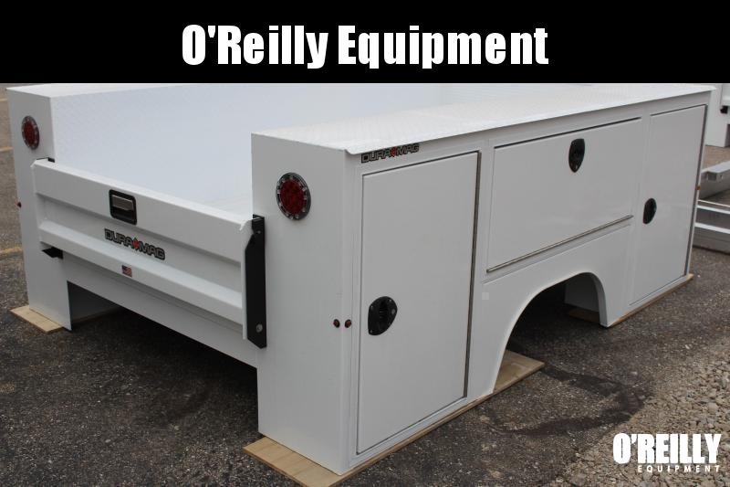 2020 Aluminum Dura Mag Truck Bodies Ford SB-S-56F17-STD-SRW Truck Bed