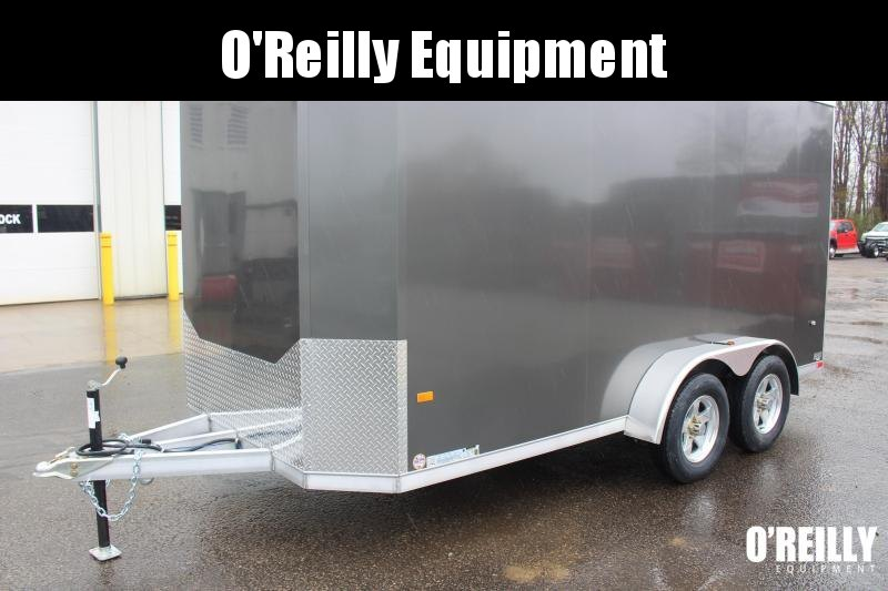 2021 NEO NAC 7' x 14' Enclosed Trailer - 7000# GVW, Ramp Door, 7' Interior