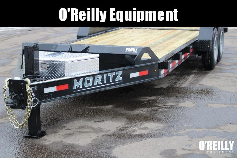 2021 Moritz 7' x 14' + 6' Power Tail Tilt - 16000# GVW -Hydraulic Jack