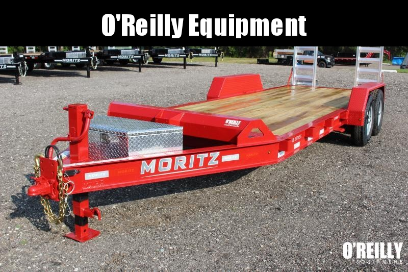 2022 Moritz ELBH 7' x 20' Equipment Trailer - 14000# GVW