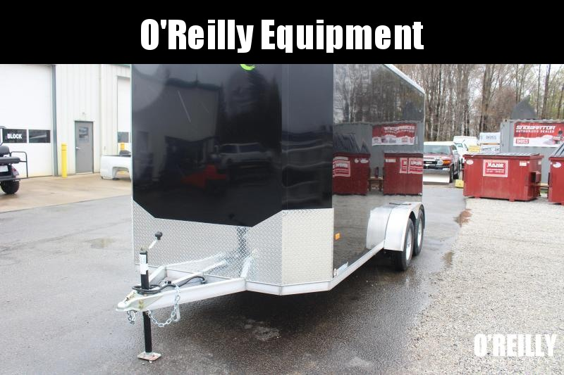 2021 NEO NAC 7' x 16' Enclosed Trailer - 7000# GVW, Ramp Door, 7' Interior