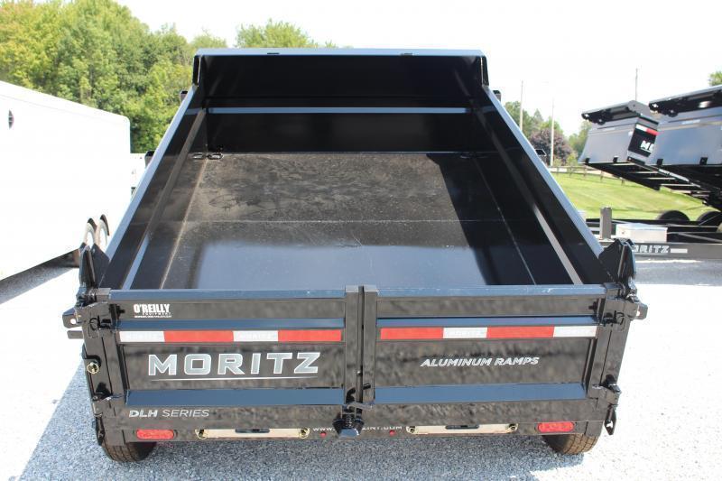 "2021 Moritz 6'10"" x 10' HD Dump Trailer - 9950# GVW"